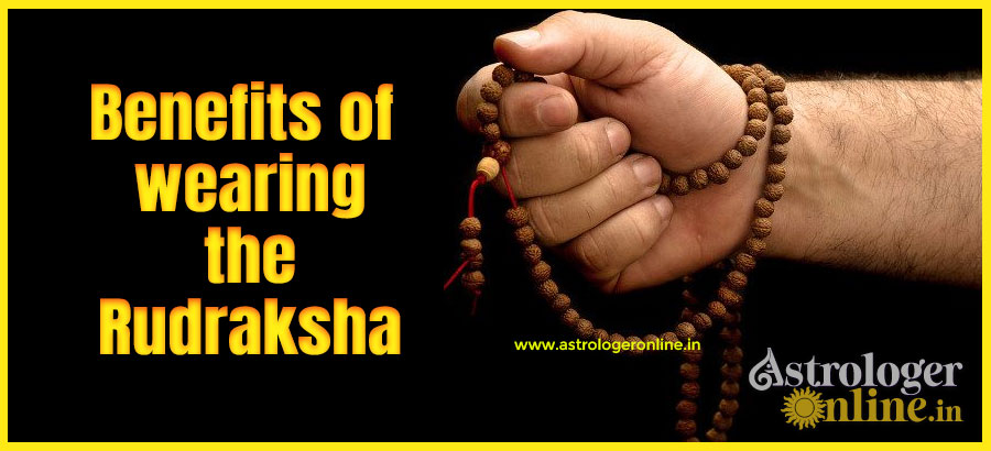 Benefits of wearing the Rudraksha
