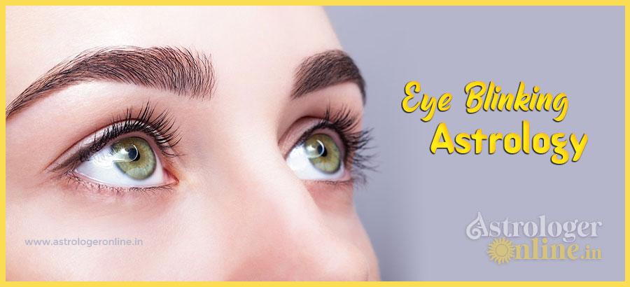 Eye Blinking Astrology